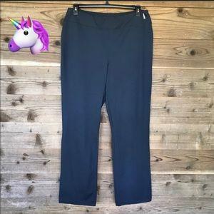 Lands End Navy Active Yoga Pants Sz XL - Tall